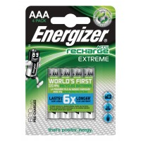 Oplaadbare NiMH Batterij AAA 1.2 V Extreme 800 mAh 4-Blister