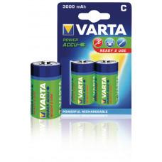 Oplaadbare NiMH Batterij C 1.2 V 3000 mAh 2-Blister