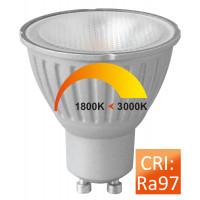 Megaman MM09680 Reflector PAR16 6-50W GU10 Dim to warm 35°