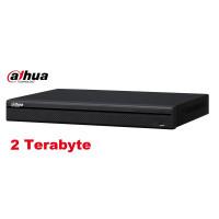 Dahua DHI-NVR1A08HS-8P Easy4IP NVR 8 kanalen met PoE + 2TB HDD