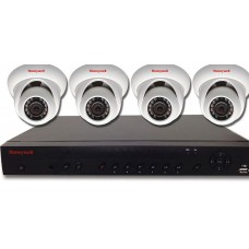 HEN04111EBX Embedded NVR Kits 1080p IP Cameras and 4 Channel NVR